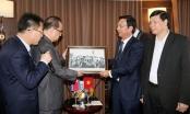 Quảng Ninh: Phái đoàn Triều Tiên đi tàu tham quan Vịnh Hạ Long