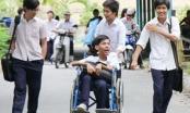 Chế độ ưu tiên với học sinh khuyết tật thi THPT Quốc gia thế nào?
