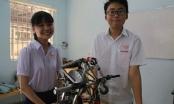 Nhóm học sinh sáng chế thiết bị thoát hiểm đa năng
