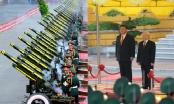 Bắn đại bác chào đón Chủ tịch Tập Cận Bình tại Phủ Chủ tịch