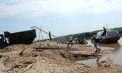 Nghệ An: Ồ ạt khai thác cát trái phép trên sông Hiếu