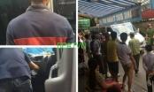 Hà Nội: Xe 16 chỗ đâm Cảnh sát giao thông?
