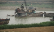 Vĩnh Phúc: Núp bóng để khai thác cát trái phép trên sông Lô