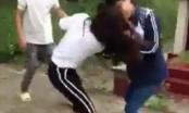 Clip mới: Nữ sinh đánh nhau điên cuồng ngay cạnh nghĩa trang