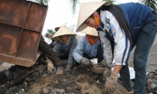 Nhọc nhằn nghề mót xỉ sắt