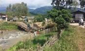 Sơn La: Sập cầu Nậm Ban, giao thông ngừng trệ