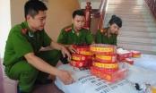 Nghệ An: Thu giữ hơn 400kg pháo các loại