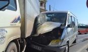 Xe khách 16 chỗ gặp nạn, nhiều người bị thương