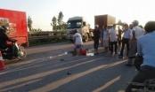 Nam Định: Tai nạn liên hoàn một người chết, một người bị thương
