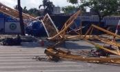 Chùm ảnh: Sập cần cẩu 70m ở Hải Phòng, 1 người chết