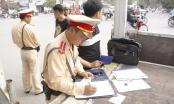 Hà Nội: Cảnh sát giao thông Đội 14 ra quân bắt xe khách sai phạm