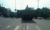 Hà Nam: Mất lái xe tải lao vào xe rơ mooc bẹp  dúm đầu