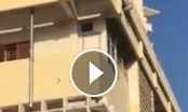 SỐC: Clip thanh niên nhảy lầu tự tử ở Quảng Ninh