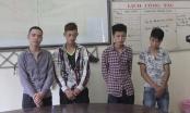 Nghệ An: Thiếu tiền, nhóm 9X mang hung khí đi cướp để chơi game