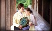 Các cặp sao Hàn tuyệt đẹp trong trang phục cưới truyền thống.