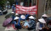 Giải oan công nhân Cty Dệt: Tiếp tục ngồi vỉa hè ngóng QĐ 86