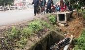 Nghệ An: Bất ngờ phát hiện thi thể nữ cùng xe máy dưới mương nước