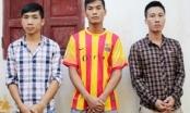 Nghệ An: 3 đối tượng trộm cắp xe máy bị bắt