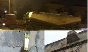 Hà Nội: Cầu vượt An Khánh đang bong da tróc thịt vì xe quá tải