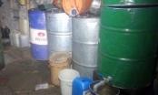 Triệt phá ổ nhóm rút ruột 1.500 lít xăng dầu tại Nghệ An