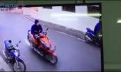 Clip: Siêu trộm nhảy xe máy trong tích tắc ở Hà Nội