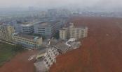 Lở núi kinh hoàng ở Trung Quốc, 17 tòa nhà cao tầng bị đổ sập