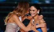 Phạm Hương chia sẻ trạng thái trên facebook ủng hộ hoa hậu Dominica