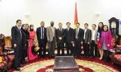Thứ trưởng Nguyễn Khánh Ngọc tiếp xã giao Đoàn Bộ Tư pháp An-giê-ri