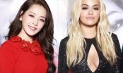 Chipu xinh đẹp rạng rỡ, đọ dáng cùng ngôi sao Rita Ora