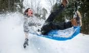 10 bức ảnh ấn tượng nhất thế giới mùa đông năm 2015