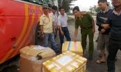 Quảng Nam: Gần 400 kg thực phẩm không rõ nguồn gốc trên xe khách