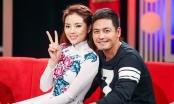 Hoa hậu Kỳ Duyên khoe sắc rạng rỡ bên MC Phan Anh