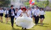 Phát sốt với bộ ảnh đám cưới hoán đổi vị trí của SV Sư phạm