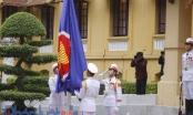 Trang nghiêm tại lễ thượng cờ ASEAN