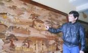 Bắc Ninh: Gặp người khai sinh và làm giàu từ nghệ thuật ghép tranh gỗ