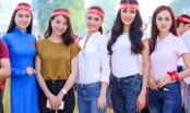 Hoa khôi, Á hậu Việt hiến máu nhân đạo ngày đầu năm