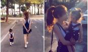 Mẹ con Elly Trần gây sốt với bộ ảnh cùng nhau đi khắp thế gian