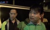 Đoàn xe tải hổ vồ cản trở Thanh tra giao thông làm nhiệm vụ