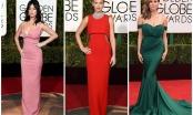 Mãn nhãn với trang  phục thảm đỏ Quả cầu vàng 2016 của sao Hollywood