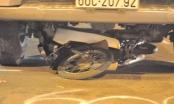 """Đồng Nai: Xe container """"nuốt"""" xe máy vào gầm kéo lê, một người tử vong"""