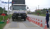 Hưng Yên: Né trạm thu phí, nhiều xe tải bị kiểm tra trọng tải xe