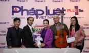 Danh ca Khánh Ly trao 10 triệu đồng cho quỹ từ thiện Nhịp cầu Plus