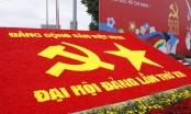 Trung tâm Hội nghị Quốc gia trang hoàng phục vụ Đại hội Đảng XII