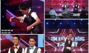 Vietnam's got talent tập 3:Cảm động tiết mục ảo thuật của thí sinh khuyết tật