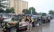Dàn xe Jeep khủng quậy tưng bừng ở xứ Nghệ