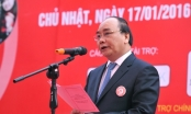 """Phó Thủ tướng Nguyễn Xuân Phúc hưởng ứng  ngày """"Chủ nhật đỏ"""""""