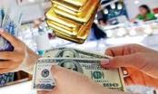 Giá vàng lao dốc, USD trượt đáy 2 tháng
