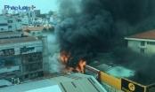 Cháy lớn ở trung tâm TP Hồ Chí Minh