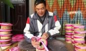 Nam Định: Khăn xếp Giáp Nhất chưa Tết đã cháy hàng