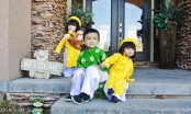 MC Huyền Ny rạng rỡ đón năm mới bên chồng và các con